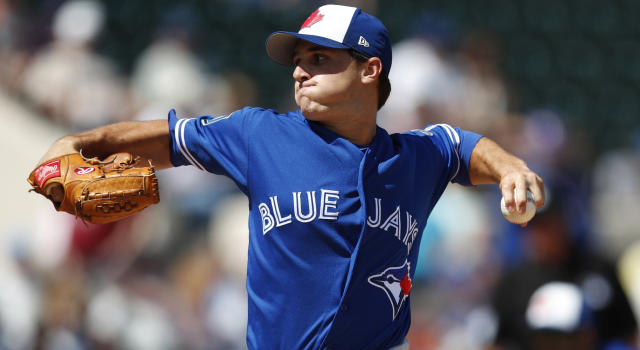 LHP Thomas Pannone has been called up by the Toronto Blue Jays. (Photo by Mike McGinnis/Getty Images)