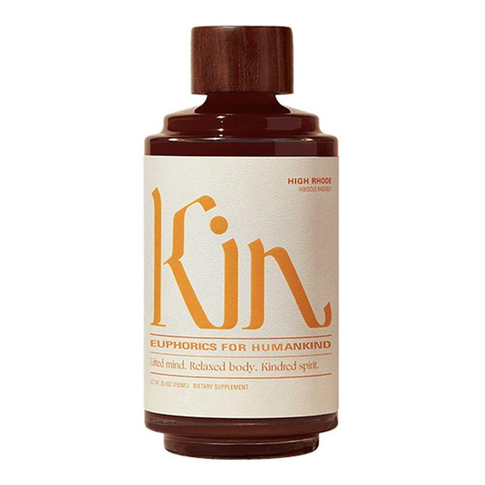 """<p><strong>Kin Euphorics</strong></p><p>kineuphorics.com</p><p><strong>$39.00</strong></p><p><a href=""""https://go.redirectingat.com?id=74968X1596630&url=https%3A%2F%2Fshop.kineuphorics.com%2Fproducts%2Fhigh-rhode&sref=https%3A%2F%2Fwww.bestproducts.com%2Feats%2Fdrinks%2Fg28787971%2Fnon-alcoholic-drinks%2F"""" rel=""""nofollow noopener"""" target=""""_blank"""" data-ylk=""""slk:Shop Now"""" class=""""link rapid-noclick-resp"""">Shop Now</a></p><p>Creating an entirely new category of nonalcoholic, euphoric beverages, Kin Euphorics High Rhode is unlike anything else we've ever tasted. Created from a blend of adaptogens, replenishing <a href=""""https://www.webmd.com/vitamins-and-supplements/features/nootropics-smart-drugs-overview"""" rel=""""nofollow noopener"""" target=""""_blank"""" data-ylk=""""slk:nootropics for brain function"""" class=""""link rapid-noclick-resp"""">nootropics for brain function</a>, and nourishing botanical ingredients, High Rhode helps foster a sense of calm and bliss.</p><p>Kin's High Rhode has a tart, slightly bitter taste with notes of hibiscus, gentian root, and licorice. Pour Kin over ice, top with soda or tonic water, and serve with an orange slice. </p>"""