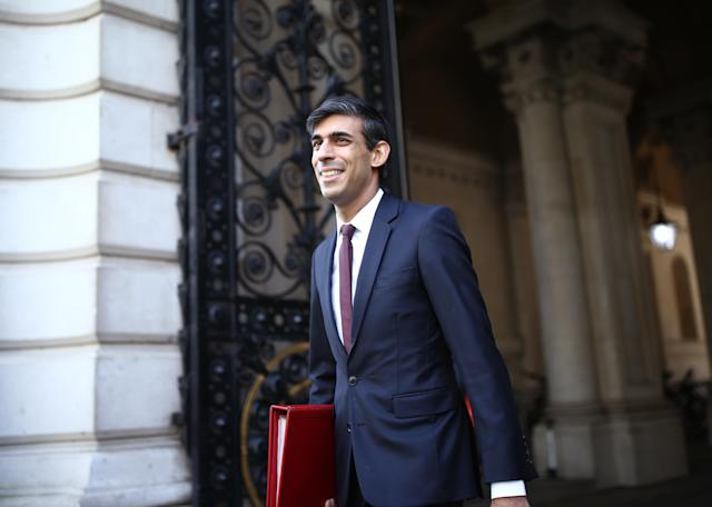 Chancellor Rishi Sunak as the Treasury weighs up whether to maintain support for the self-employed. (PA)