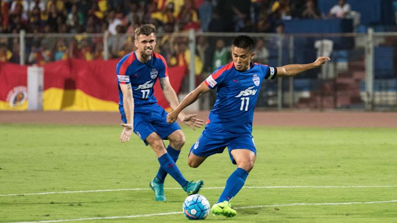 AFC Cup 2017: Bengaluru FC 1-0 Maziya S&RC: Sunil Chhetri freekick sends Eagles through