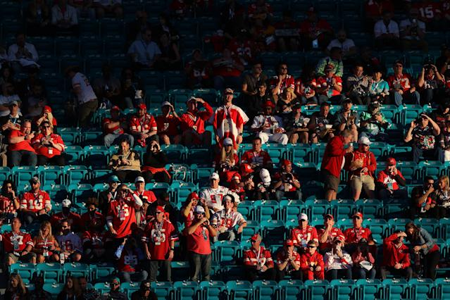 A decent amount of fans may not return to sports after the coronavirus pandemic subsides. And if they do, they'll be changed in ways we can't yet fully comprehend. (Photo by Ronald Martinez/Getty Images)