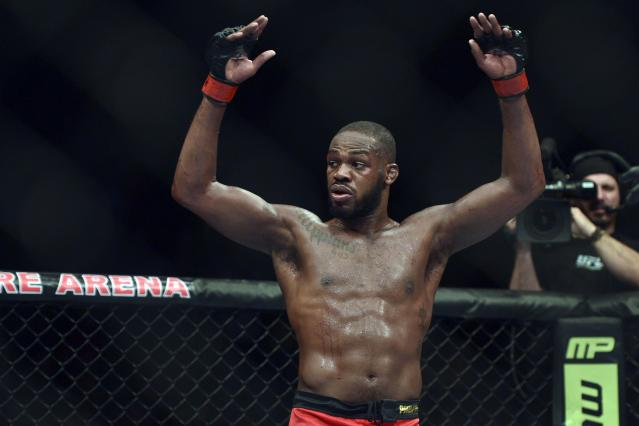 Will Jon Jones be eligible to compete in the UFC in the near future? It all depends on his B-sample. (AP)