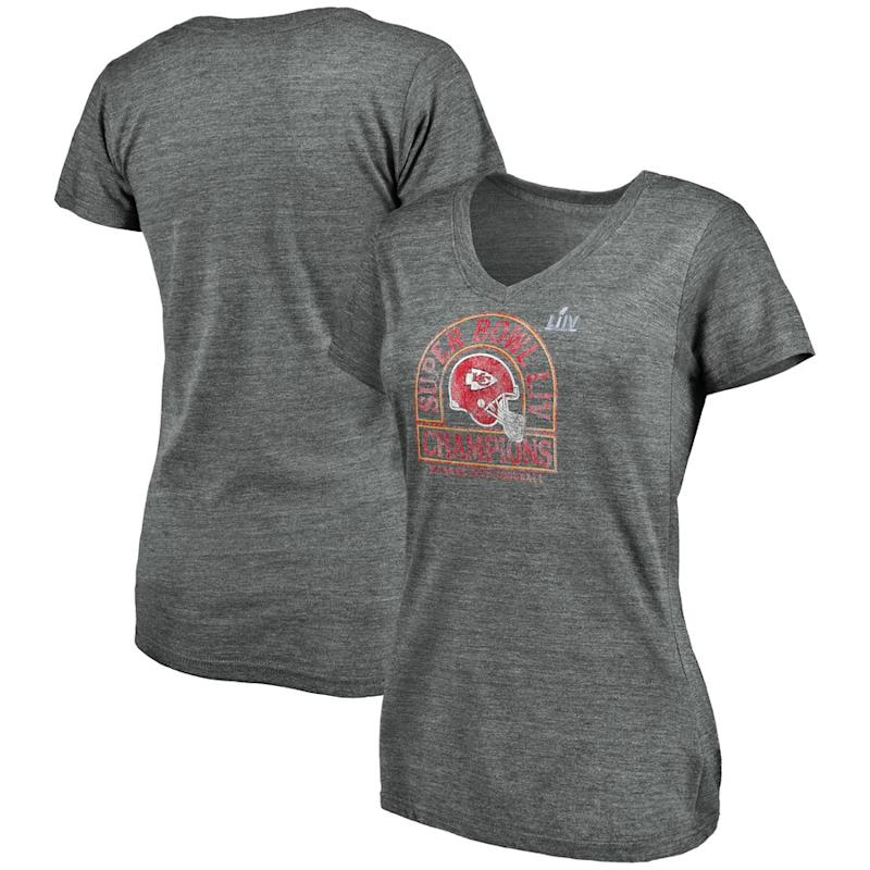 Women's V-neck Kansas City shirt