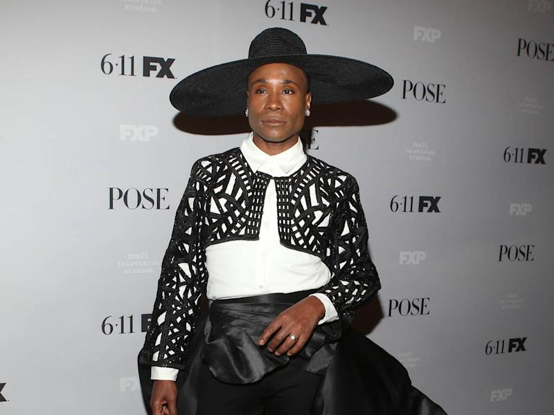 Billy Porter uses fashion to explore different identities