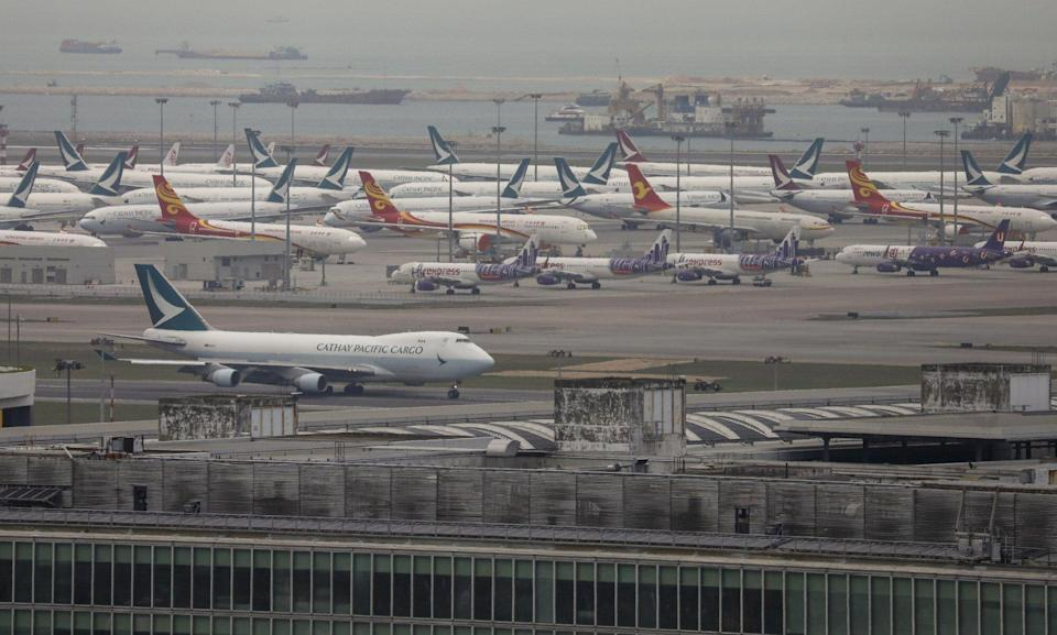 The report suggests making Hong Kong International Airport the centre of an 'aviation metropolis'. Photo: Winson Wong