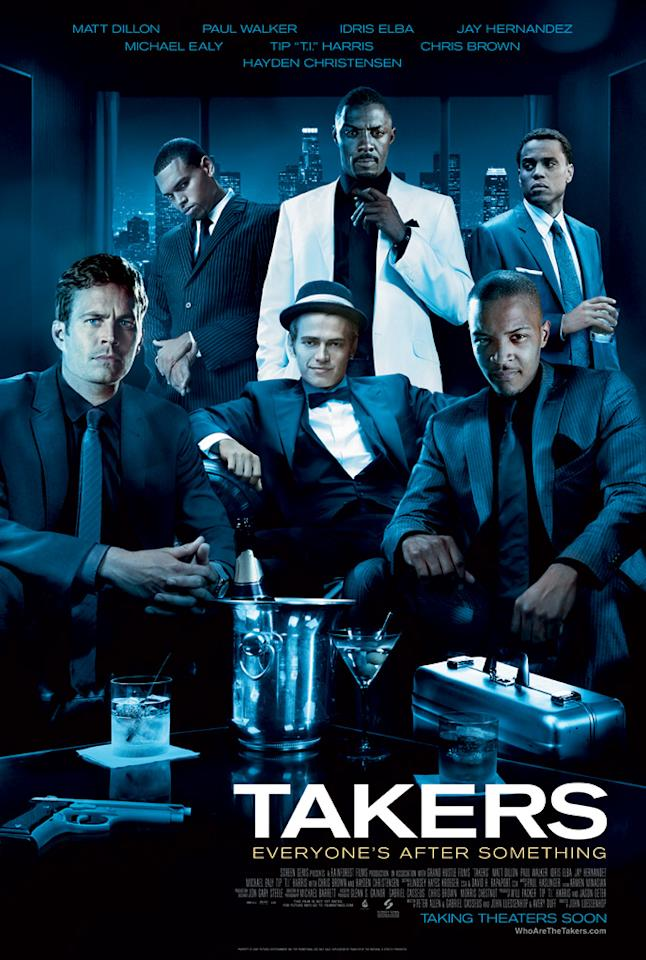 "The Worst:  <a href=""http://movies.yahoo.com/movie/1810047058/info"">TAKERS</a>    The finest gathering of copy-and-pasted heads ever assembled on one poster."