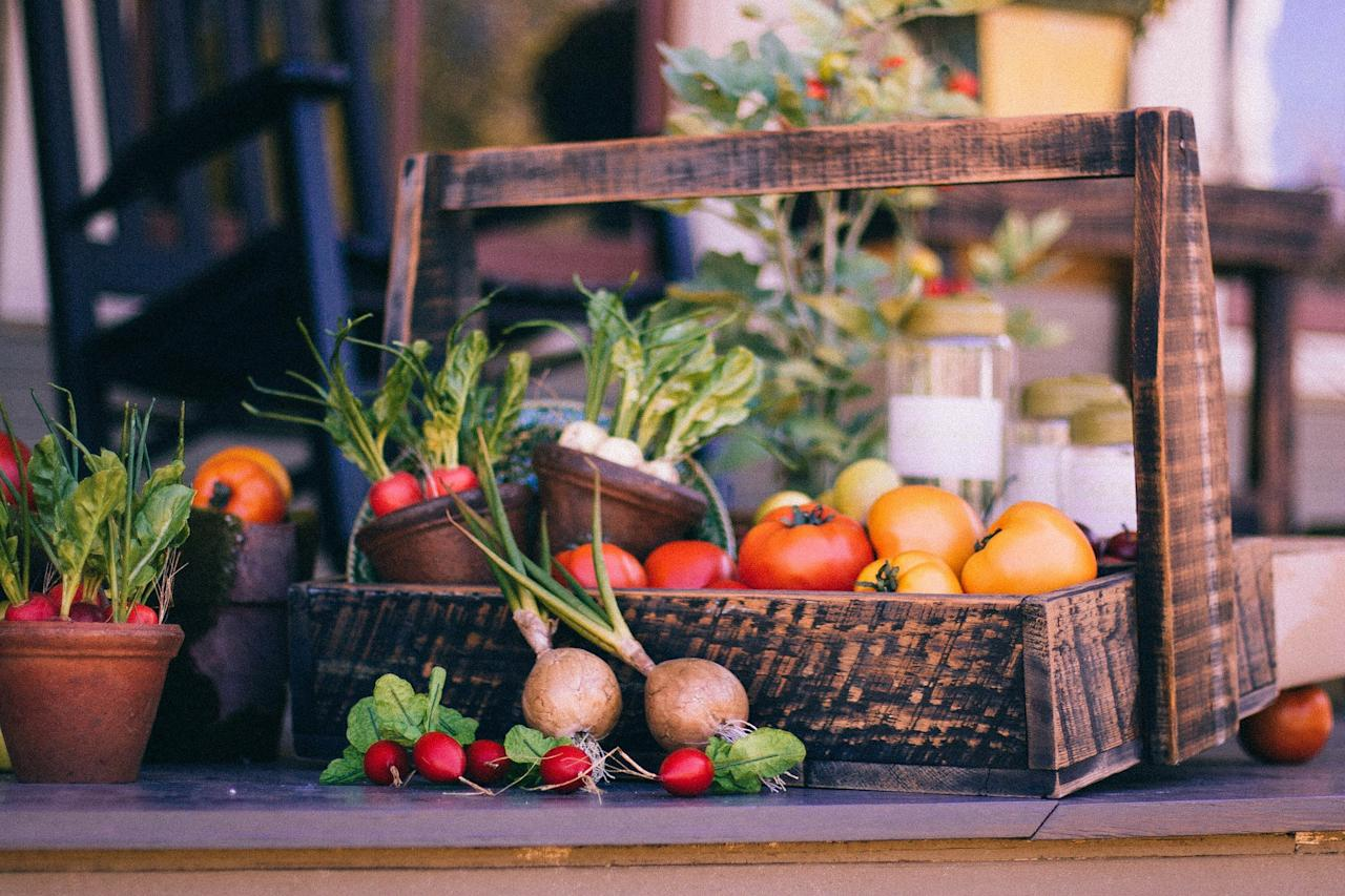 <p>To start with, veggies are great for your skin. The pigments in fruits and vegetables give your skin a better sun-kissed glow than the actual sun or sunless tanners. </p>