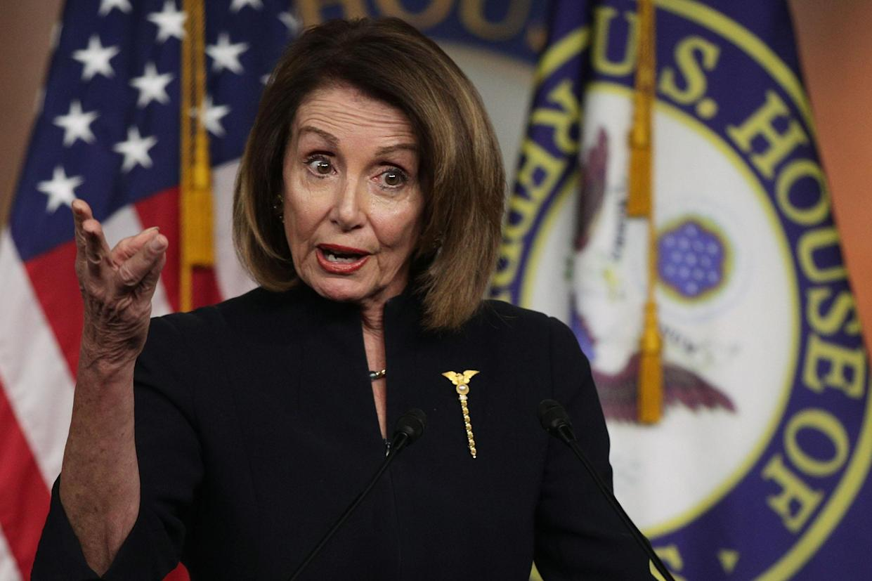 Speaker of the House Nancy Pelosi. (Photo: Alex Wong/Getty Images)