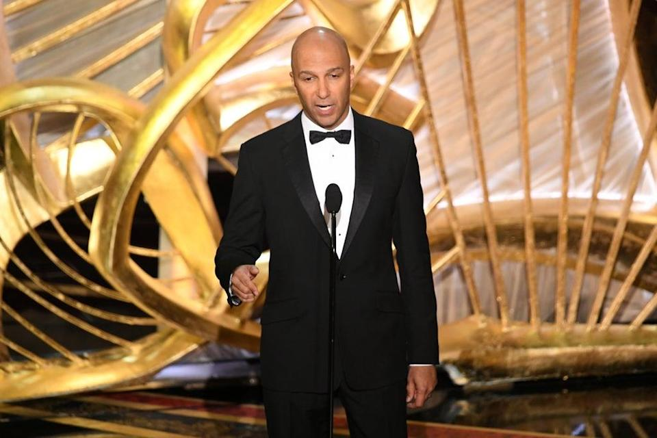 Tom Morello speaks onstage during the 91st Annual Academy Awards in 2019 (Getty Images)