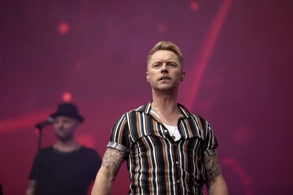 Ronan Keating accepted the phone-hacking settlement at the High Court. (Photo by Cole Bennetts/Getty Images)