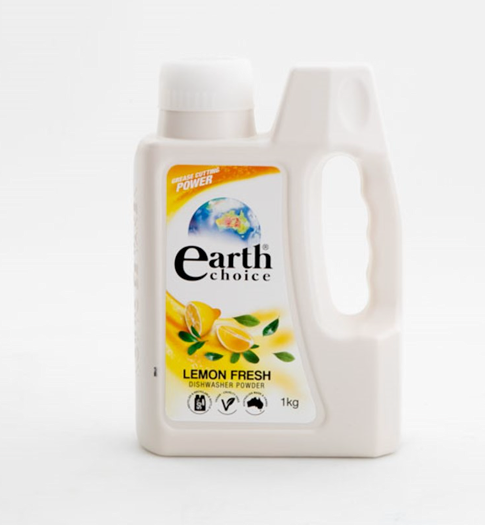 Unfortunately, Earth Choice Dishwasher Powder takes out last place with a 46% rating score. Source: CHOICE