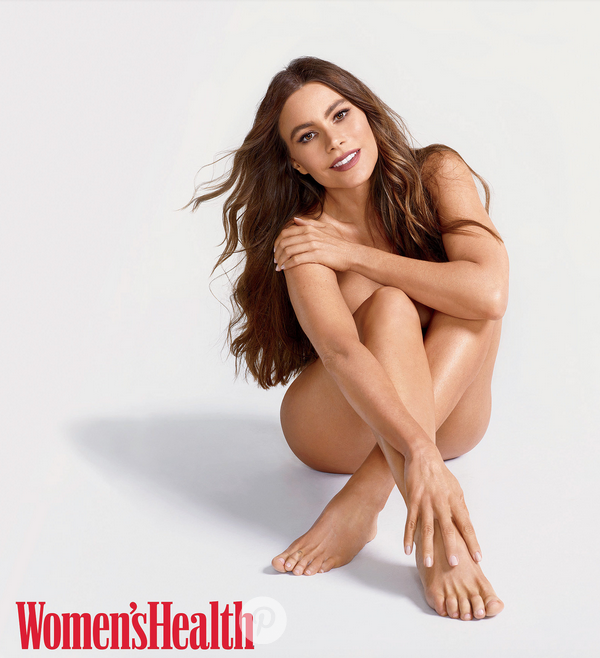Sofia Vergara strips down for Women's Health.