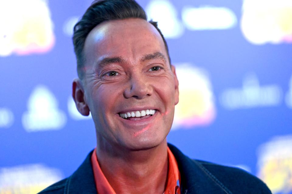 Craig Revel Horwood attends the press night of 'Anything Goes' at Barbican Theatre. (Photo by Dave J Hogan/Getty Images)