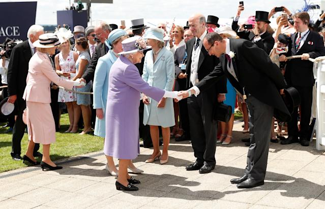 Horse Racing - Derby Festival - Epsom Downs Racecourse, Epsom, Britain - June 2, 2018 Britain's Queen Elizabeth arrives for the Derby Festival Action Images via Reuters/Andrew Boyers