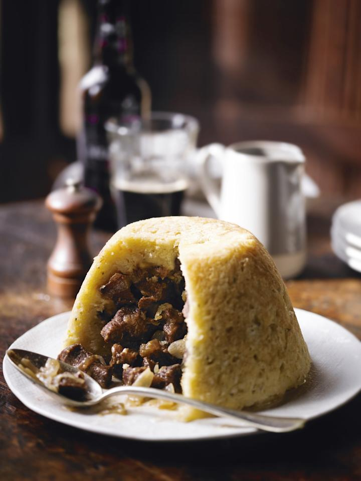 "<p>Pep up your average steak & kidney pudding with the addition of Guinness for a St Patrick's Day inspired dinner [Photo: <a rel=""nofollow"" href=""http://www.waitrose.com/recipes"">www.waitrose.com/recipes</a>] </p>"