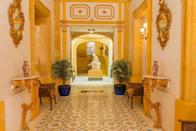 """<p>Fancy staying in a real Renaissance palazzo in the historic centre of Valletta? Then look no further than this romantic B&B inside the ancestral home of the 9th Marquis de Piro and his family. </p><p>The five bedrooms at <a href=""""https://go.redirectingat.com?id=127X1599956&url=https%3A%2F%2Fwww.booking.com%2Fhotel%2Fmt%2Fcasa-rocca-piccola-b-amp-b.en-gb.html%3Faid%3D1922306%26label%3Dmalta-hotels&sref=https%3A%2F%2Fwww.goodhousekeeping.com%2Fuk%2Flifestyle%2Ftravel%2Fg37028393%2Fmalta-hotels%2F"""" rel=""""nofollow noopener"""" target=""""_blank"""" data-ylk=""""slk:Casa Rocca Piccola B&B"""" class=""""link rapid-noclick-resp"""">Casa Rocca Piccola B&B</a> are packed with period features, antique curios and beautiful ornate furnishings, plus there's a gorgeous terraced garden for enjoying breakfast in the fresh air. </p><p>Part of the building is also a popular museum, where you can learn about Malta's history through the lives of the palace's aristocratic owners.</p><p><a class=""""link rapid-noclick-resp"""" href=""""https://go.redirectingat.com?id=127X1599956&url=https%3A%2F%2Fwww.booking.com%2Fhotel%2Fmt%2Fcasa-rocca-piccola-b-amp-b.en-gb.html%3Faid%3D1922306%26label%3Dmalta-hotels&sref=https%3A%2F%2Fwww.goodhousekeeping.com%2Fuk%2Flifestyle%2Ftravel%2Fg37028393%2Fmalta-hotels%2F"""" rel=""""nofollow noopener"""" target=""""_blank"""" data-ylk=""""slk:CHECK AVAILABILITY"""">CHECK AVAILABILITY</a></p>"""