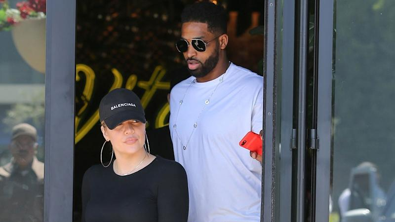 Khloe Kardashian and Tristan Thompson Grab Casual Lunch Together in L.A.