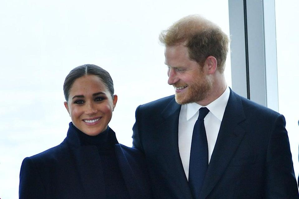Harry and Meghan made a special trip (Getty Images)