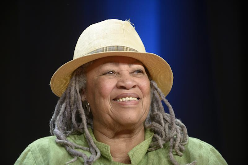 PARIS, FRANCE - SEPTEMBER 21: American writer Toni Morrison on September 21, 2012 in Paris, France. (Photo by Ulf ANDERSEN/Gamma-Rapho via Getty Images)