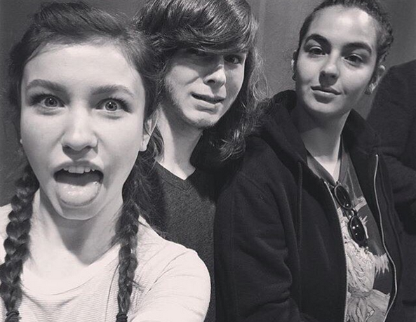"<p>Walker Stalker throwback — <a href=""https://www.instagram.com/realkatelynnacon/"" rel=""nofollow noopener"" target=""_blank"" data-ylk=""slk:@realkatelynnacon"" class=""link rapid-noclick-resp"">@realkatelynnacon</a><br><br>(Photo: Instagram) </p>"