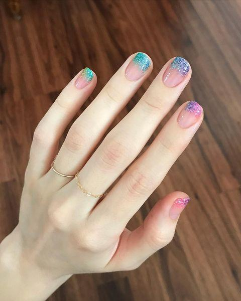"""<p>Just looking at these nails makes us feel like we should be at a festival. Where's our bumbag?</p><p><a href=""""https://www.instagram.com/p/CBlrDgaDzO6/"""" rel=""""nofollow noopener"""" target=""""_blank"""" data-ylk=""""slk:See the original post on Instagram"""" class=""""link rapid-noclick-resp"""">See the original post on Instagram</a></p>"""
