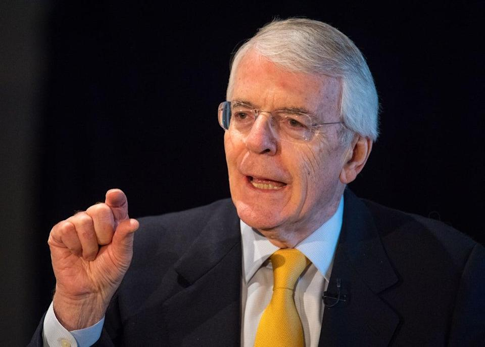 Sir John Major has said the move targeting workers and employers is 'regressive' (Dominic Lipinski/PA) (PA Wire)