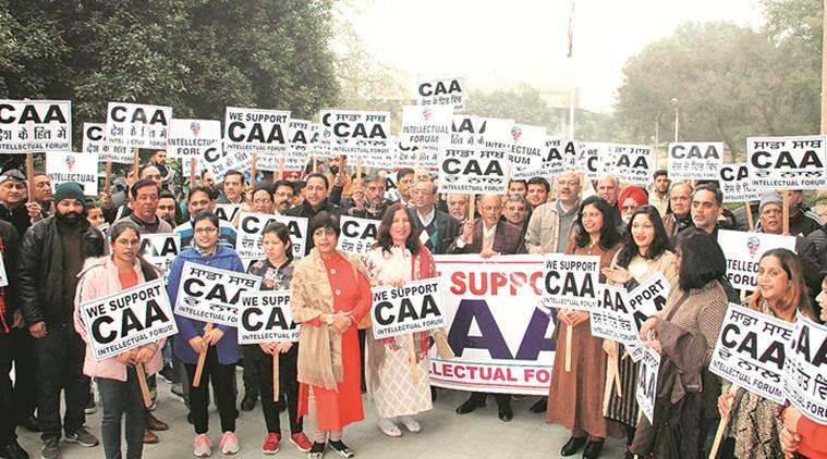 At a rally in favour of new citizenship law in Ludhiana, people chant pro-Modi slogans, say frustrated parties misleading nation