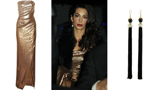 Amal Clooney look for less
