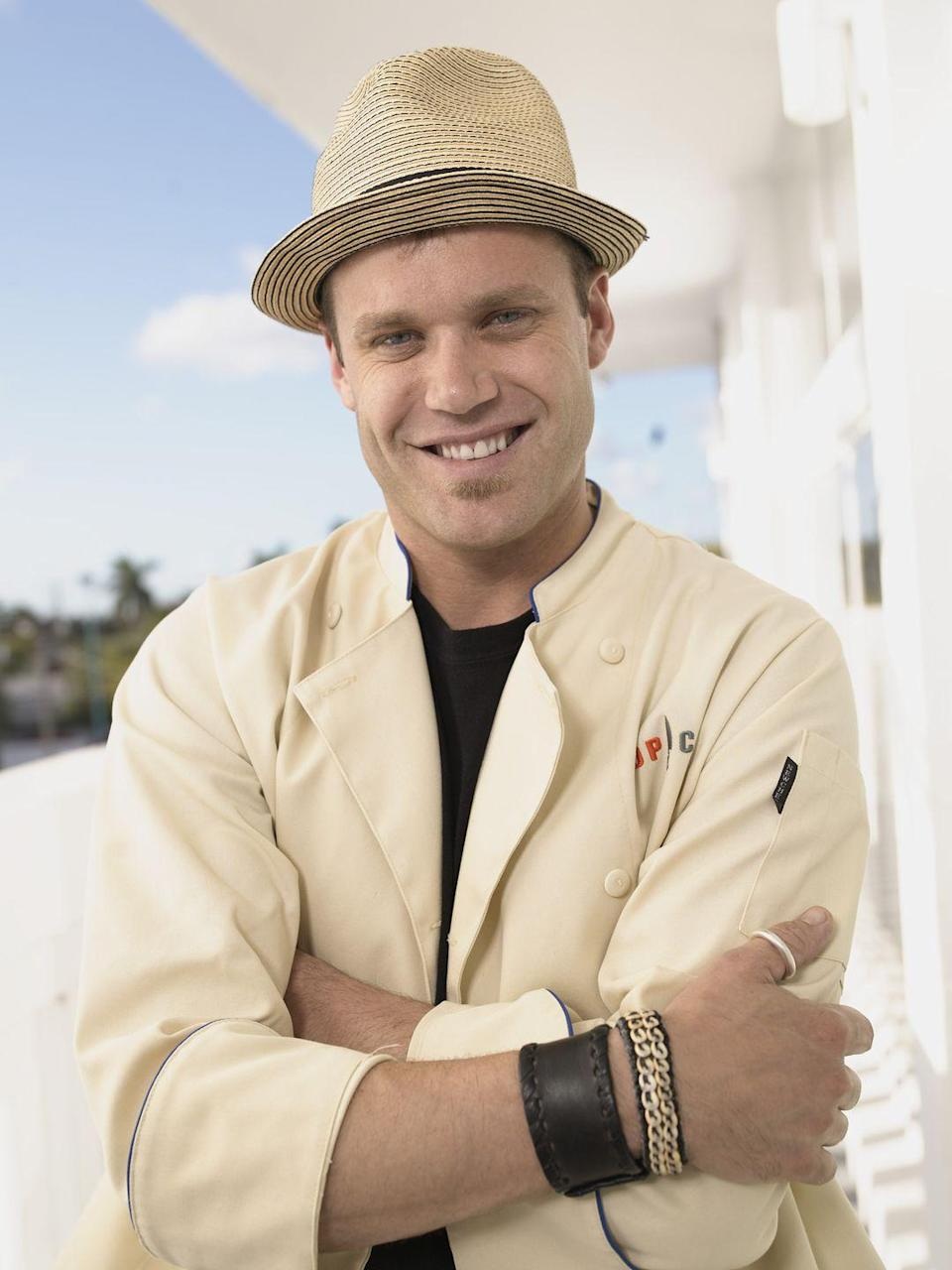 <p>After training at Le Cordon Bleu in Portland, OR, and working his way up through restaurants, Brian Malarkey entered the competition in season three and left <em>Top Chef: Miami </em>as a finalist. </p>