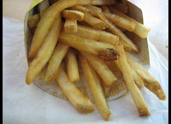 "In March 2012, a woman claimed she found a <a href=""http://www.huffingtonpost.com/2012/03/29/maggot-in-wendys-fries_n_1388291.html"" target=""_hplink"">live maggot</a> in her fries. According to Wendy's, the local health department determined that a Noctuid Moth larva, found only in outdoor habitats, was provided to them by the woman as the ""maggot."" The health department found no evidence of any health violations in follow-up inspections of the Wendy's facility after the woman's claim. <em>Photo from <a href=""http://www.flickr.com/photos/theimpulsivebuy/"" target=""_hplink"">Flickr: theimpulsivebuy</a></em>"