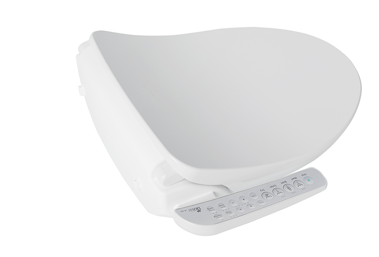 BioBidet Electric Bidet Seat for Elongated Toilets. (Photo: The Home Depot)