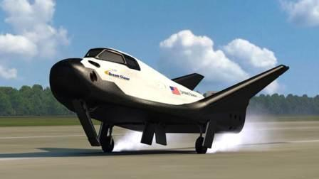Artist's conception of Sierra Nevada Corporation's Dream Chaser.  Illustration courtesy of SNC Space Systems