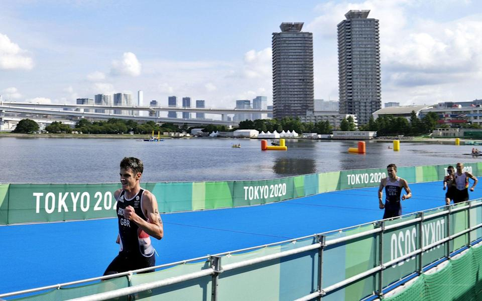 Brownlee's sensational run left the rest of the field trailing - EPA