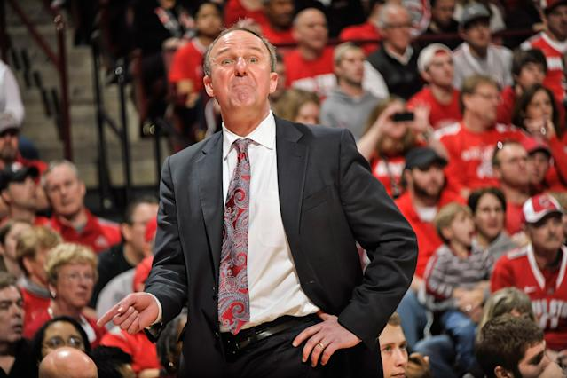 Thad Matta, Ohio State Buckeyes (Photo by Jamie Sabau/Getty Images)