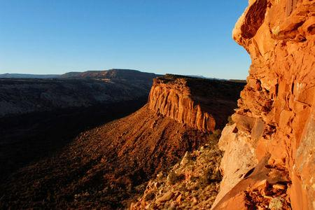 FILE PHOTO: The view from Comb Ridge is pictured in Utah's Bears Ears area of the Four Corners Region, Utah, U.S. December 18, 2016.  REUTERS/Annie Knox/File Photo