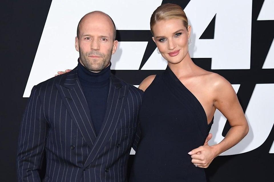Jason Statham and Rosie Huntington-Whiteley  (ANGELA WEISS/AFP/Getty Images))