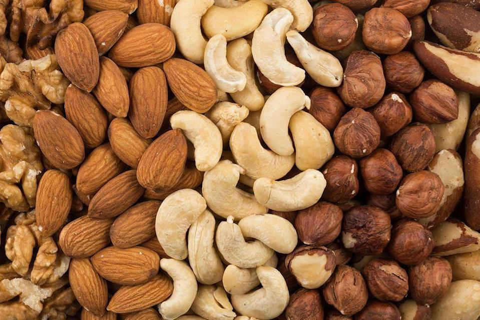 <p>Don't mess with the flavor of your nuts by keeping them in the fridge. They should be stored in an air-tight container in a place that isn't too warm or cold. </p>