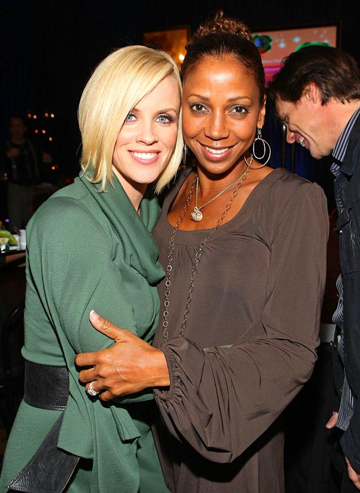 """The """"Singled Out"""" star's supporters include former """"21 Jump Street"""" cast member Holly Robinson Peete. John Shearer/<a href=""""http://www.wireimage.com"""" target=""""new"""">WireImage.com</a> - October 11, 2007"""