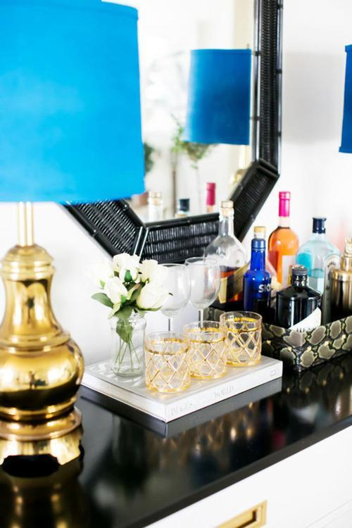 5 cute small space bar cart alternatives - Bars for small spaces ...