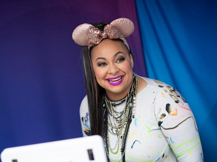 Raven Symone at Disney Channel Fan Fest.