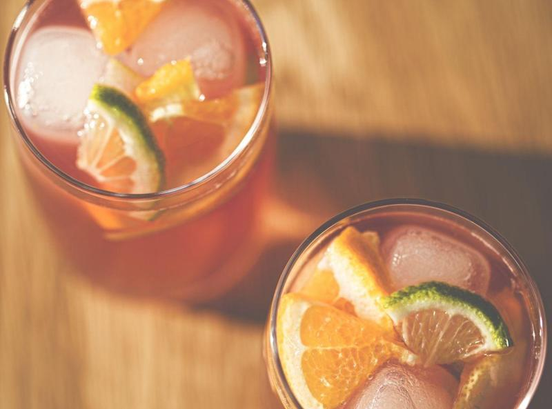 Enjoy a glass of fruity rum punch (Getty Images)