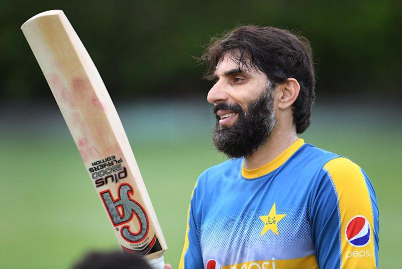 At 42, Pakistan's Misbah-ul-Haq is the oldest current international cricketer