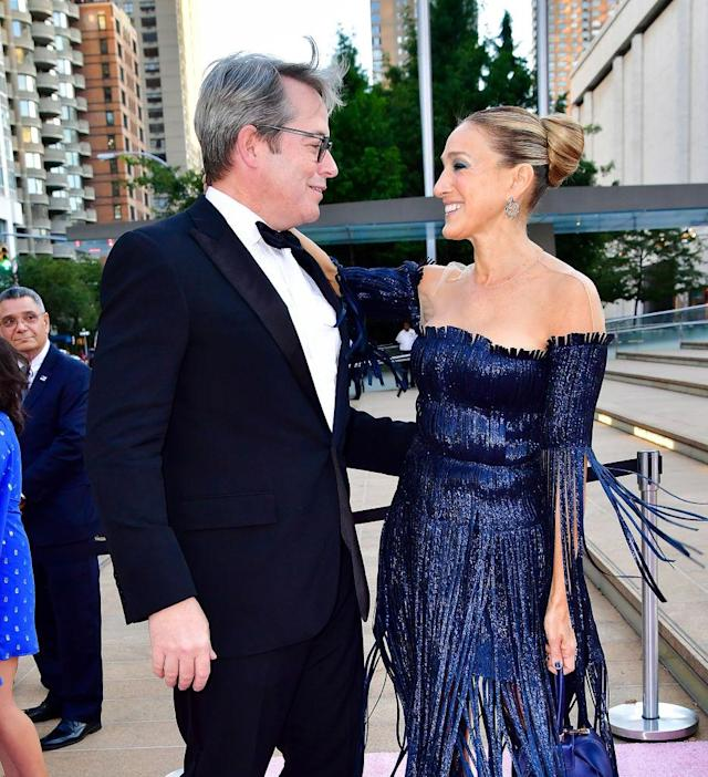 Matthew Broderick and Sarah Jessica Parker have been married for more than 22 years. (Photo: James Devaney/GC Images)