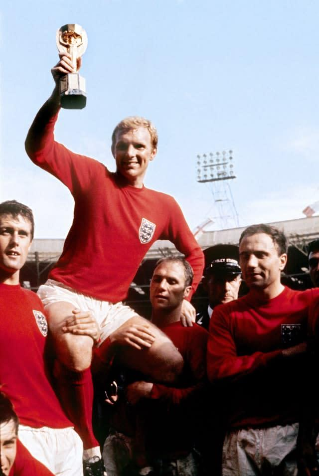 Sir Bobby Moore was England captain in their finest hour (PA)