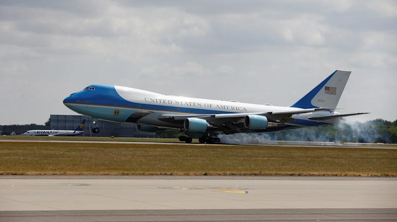 People Have Ideas For Donald Trump's Air Force One Makeover