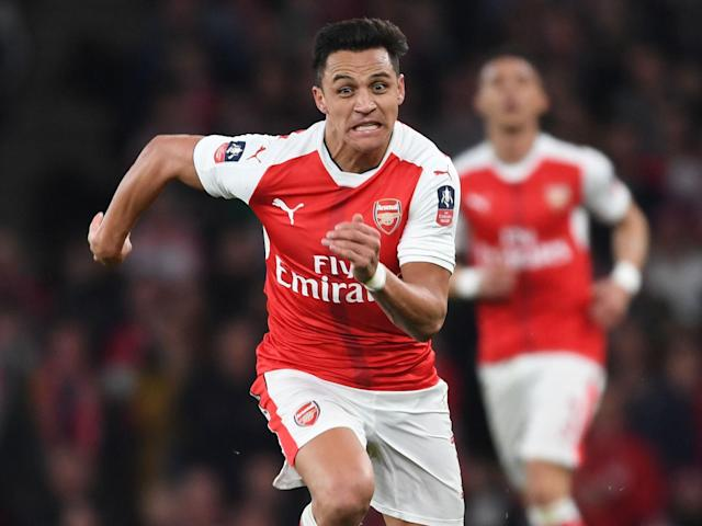 Alexis Sanchez is a reported transfer target for Atletico Madrid: Getty