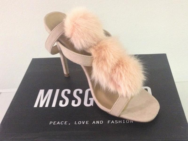 Shoes by fur-free company Missguided purchased by HSI UK and tested positive for illegal cat fur: HSI