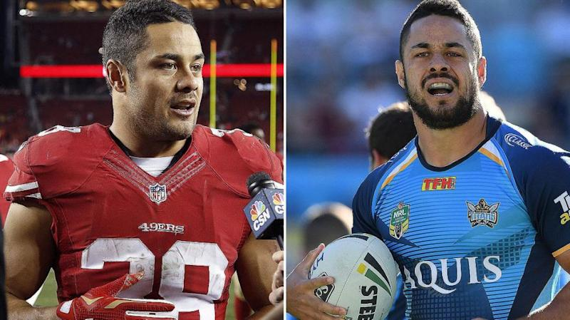 Jarryd Hayne was playing for the San Francisco 49ers at the time of the allegations.