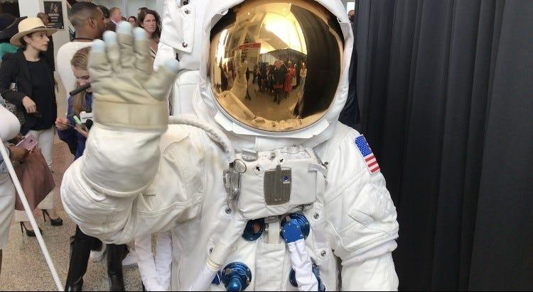 The MTV VMAs Moonperson at the Prudential Center in Newark on May 6, 2019.