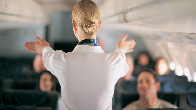 10 Things You'll Never Hear Your Flight Attendant Say